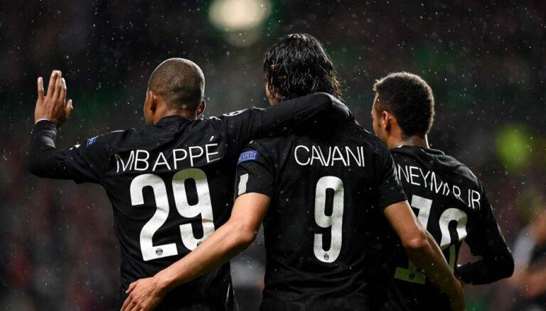 'Paris Saint-Germain' atkārtojuši 48 gadus senu Francijas futbola čempionāta rekordu