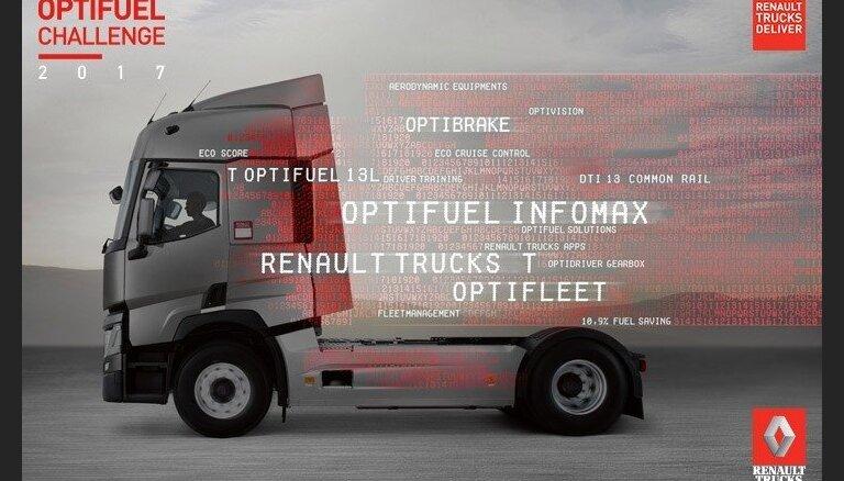 Sacensībās aicina pieteikties labākos kravas auto vadītājus Latvijā