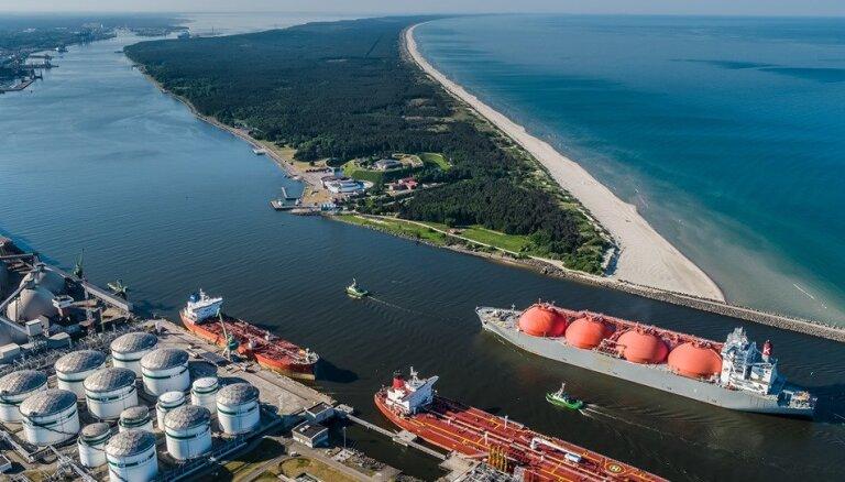 Еще одна эстонская компания будет импортировать газ через Клайпедский терминал СПГ