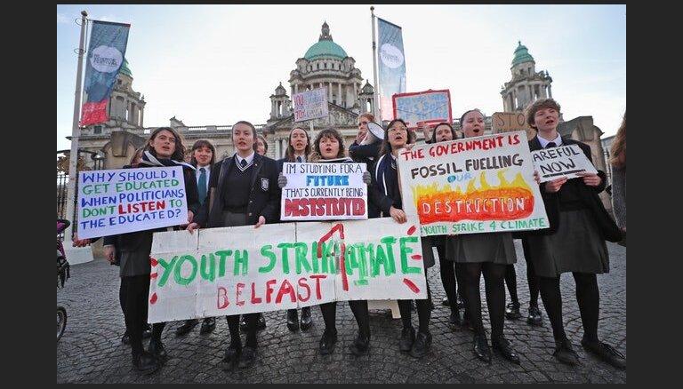 Arī Latvijā vairāki simti jauniešu plāno pievienoties globālajam klimata streikam