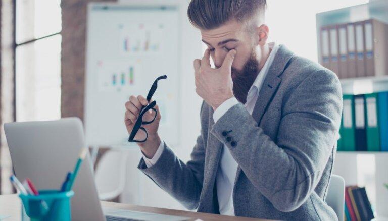 От синдрома сухого глаза страдает каждый четвертый офисный работник