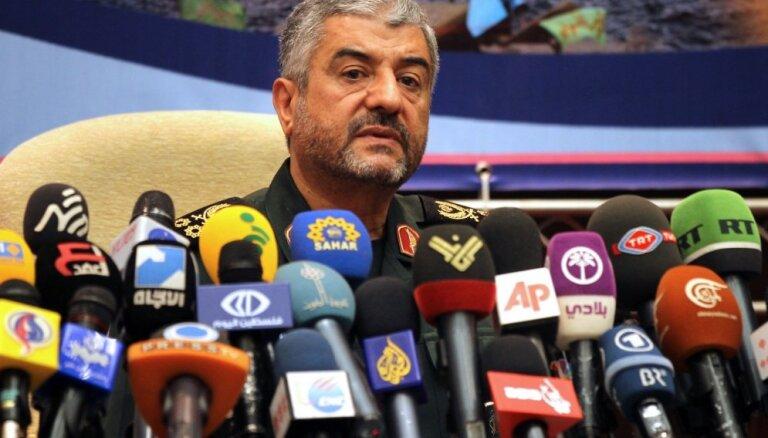 Irāna paziņo, ka tās bruņotie spēki nepametīs Sīriju