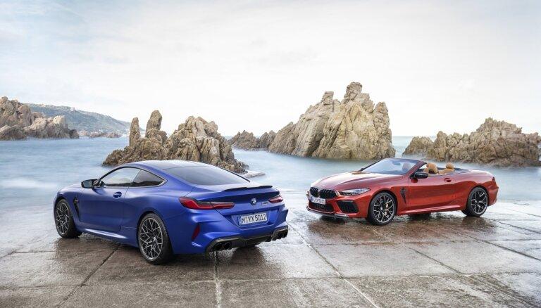BMW prezentējis savu greznāko sportisko modeli 'M8'