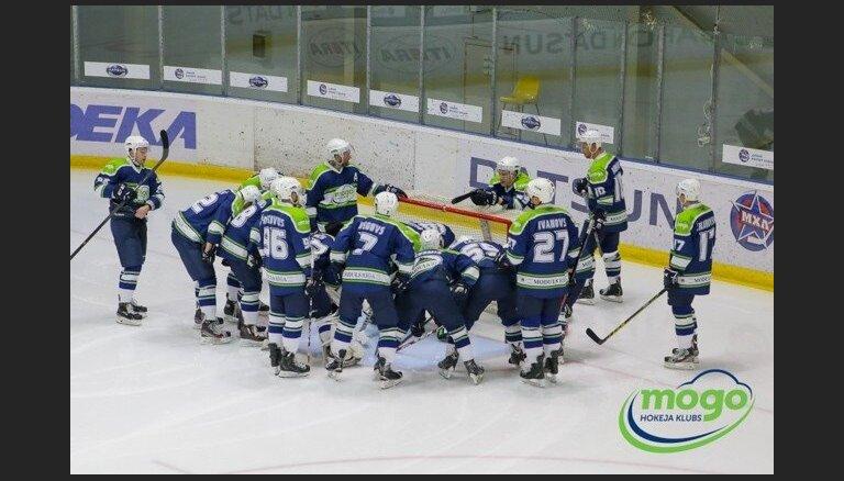 Čempioni 'Mogo' hokeja virslīgas spēlē uzveic 'Prizmu'
