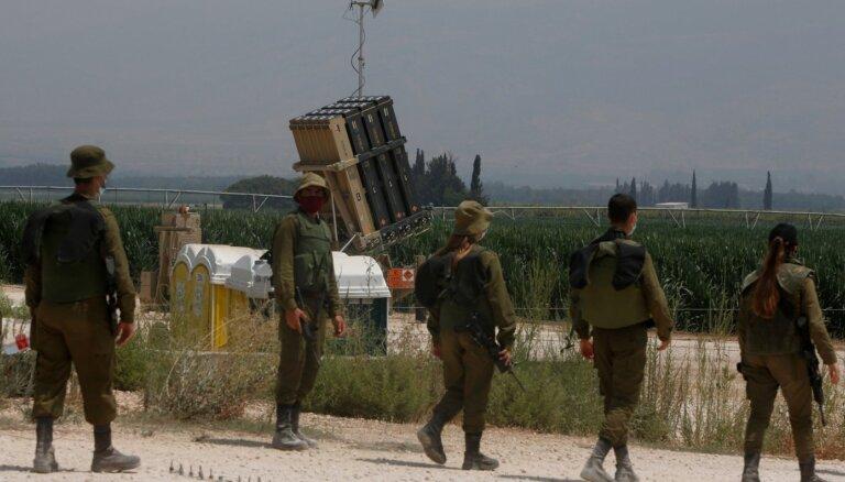 Izraēla novērsusi 'teroristu' iefiltrēšanās mēģinājumu