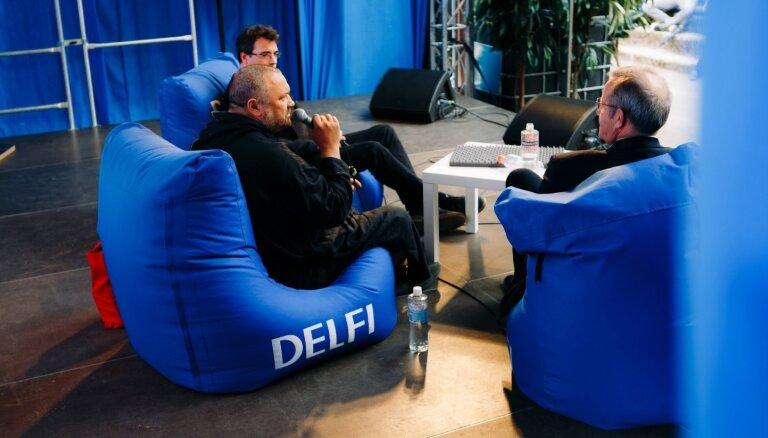 Saturs un nākotnes ģēniji Latvijā: DELFI pošas sarunu festivālam 'Lampa'