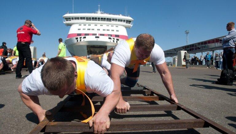 Sestdien Dobelē būs Latvijā pirmās sacensības vilkmē un spiešanā guļus