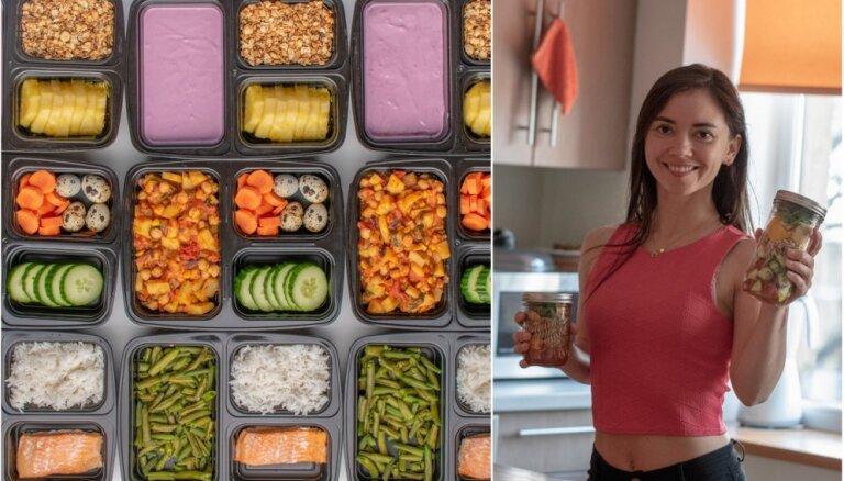 Ēdienreižu plānošana – māsiņas un uztura pazinējas Klintas pieredze