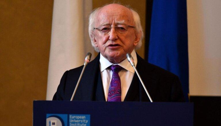 Latviju valsts vizītē apmeklēs Īrijas prezidents