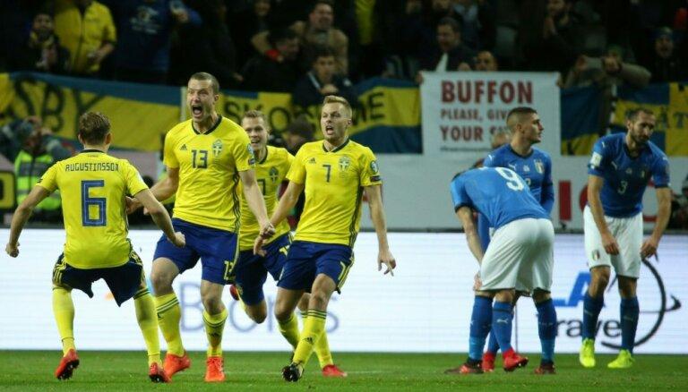 Италия впервые с 1958 года может не попасть на чемпионат мира по футболу