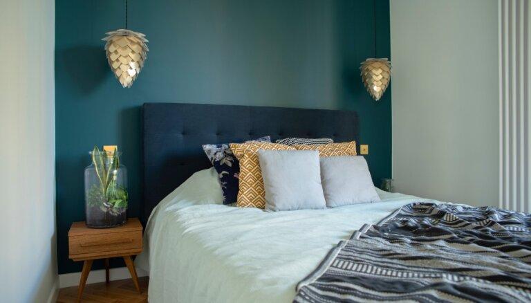 5+ praktiski padomi, kā iekārtot mazu guļamistabu