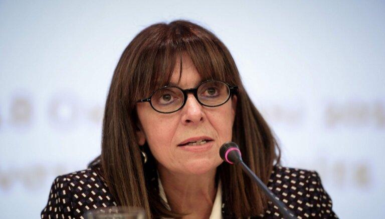 Президентом Греции впервые избрали женщину