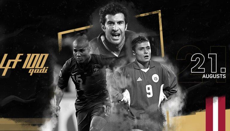 Матч легенд футбола: мировые звезды переиграли Латвию 6:1