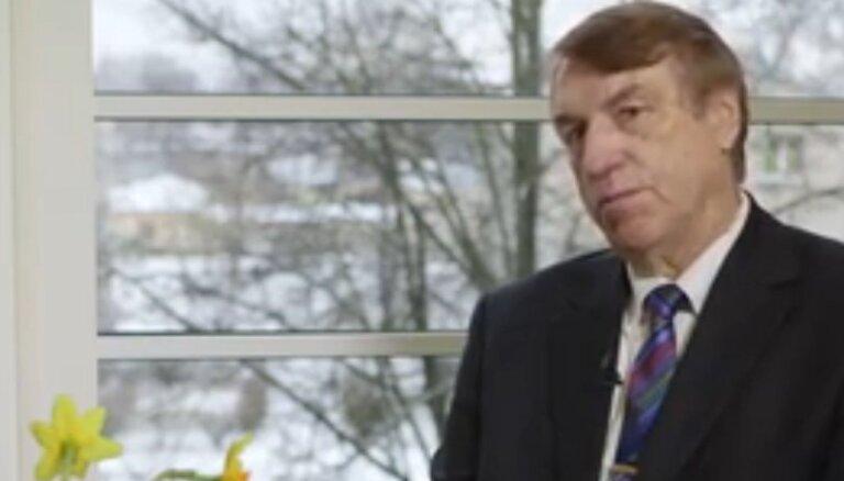 'Mildronāta' izgudrotājs Ivars Kalviņš: to, ka vīrietim jābut uzticīgam, man iemācīja vecāki
