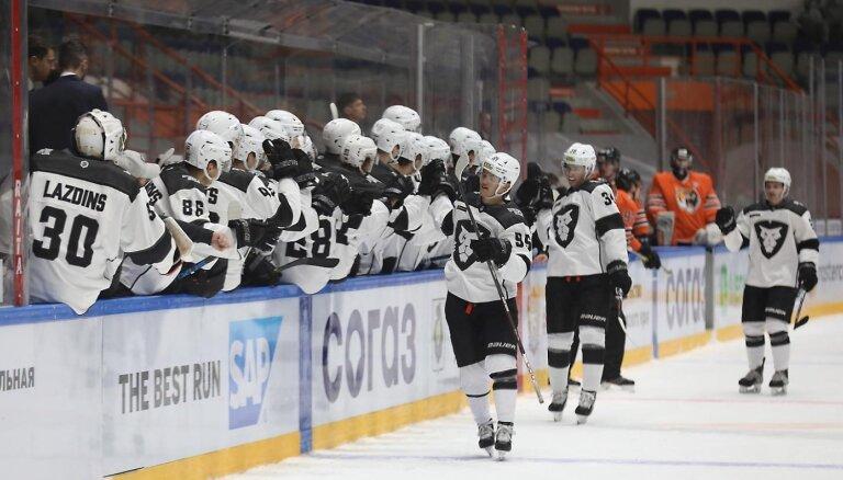 HK 'Rīga' izcīna vēl vienu pārliecinošu uzvaru Habarovskā