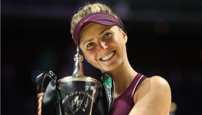 Украинка Свитолина впервые выиграла итоговый турнир WTA, у Федерера — 99-й титул
