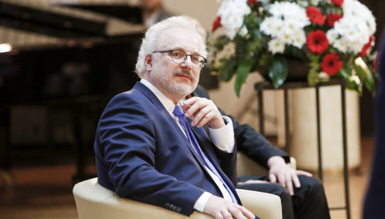 Эгилс Левитс вступит в должность президента 8 июля