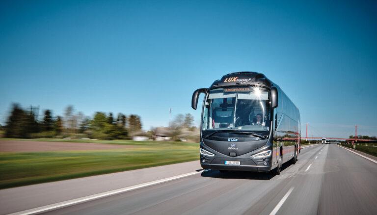 Lux Express возобновляет автобусные рейсы по маршруту Таллин - Санкт-Петербург