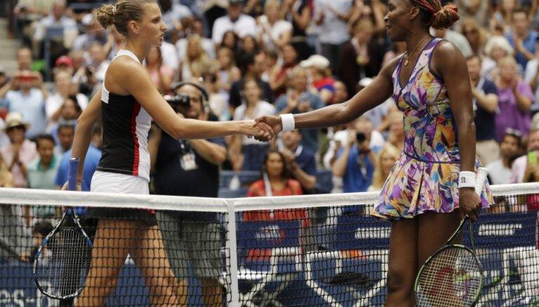 US Open: Плишкова остановила Винус, Серена превзошла достижение Федерера