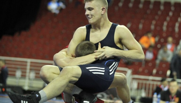 Jurkjans Eiropas čempionātā cīņas sportā izcīna bronzu grieķu - romiešu cīņā