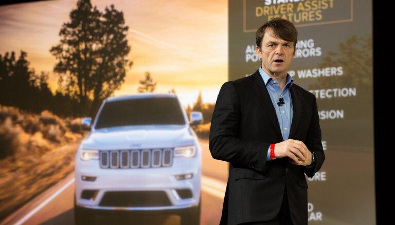 'Fiat Chrysler Automobiles' vadītājs uz laiku samazinās savu algu par 50%