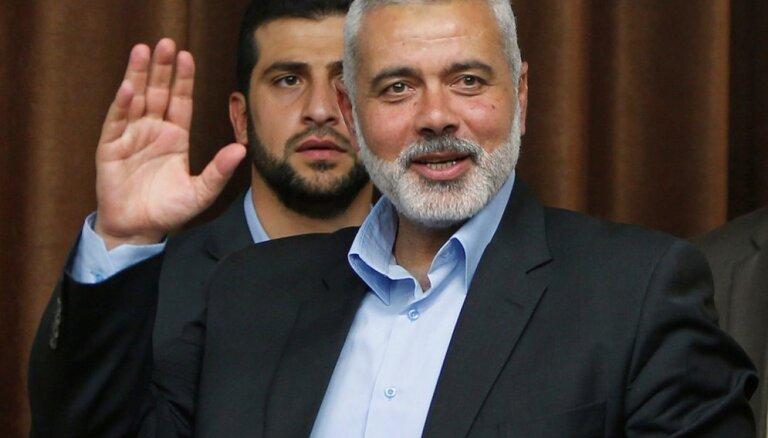 'Hamas' līderis uzaicināts vizītē uz Maskavu