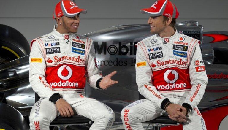 'McLaren-Mercedes' jaunajā sezonā cer pārtraukt 'Red Bull' komandas dominanci