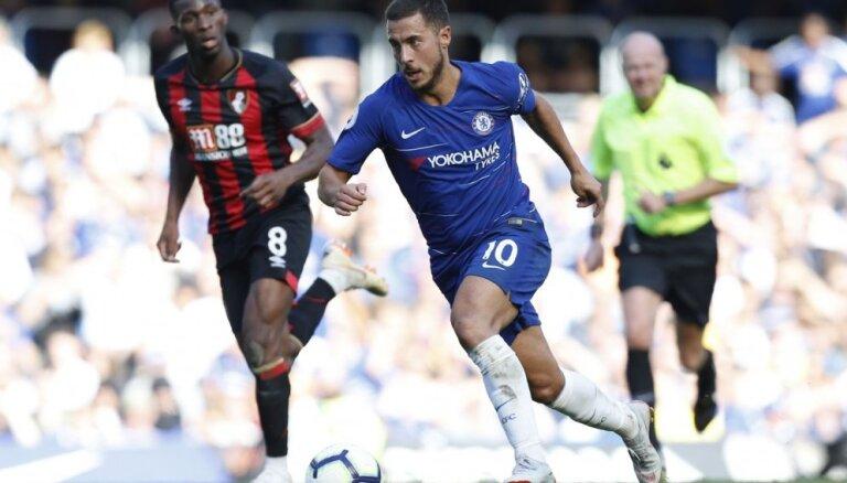 'Liverpool' un 'Chelsea' turpina uzvaru sēriju Anglijas premjerlīgā