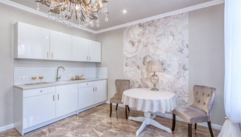 ФОТО. Гламур на 30 кв. метрах – необычная квартира в центре Риги