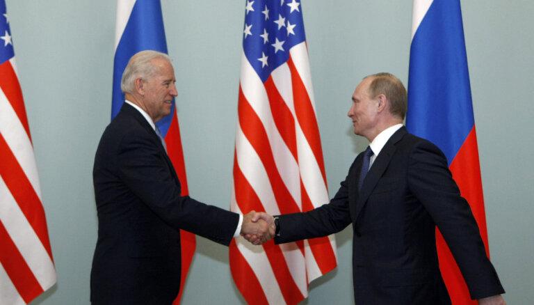 Кремль сообщил о встрече Путина и Байдена 16 июня