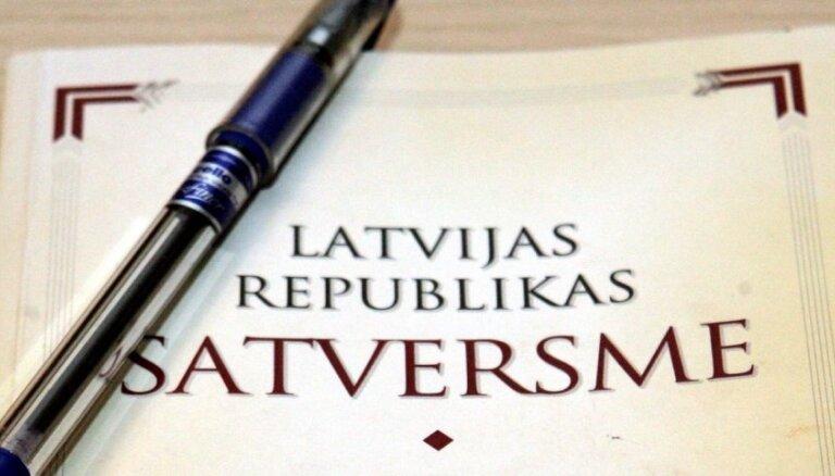 ZZS iesniedz priekšlikumu Satversmē aizliegt referendumus par valodu un neatkarību