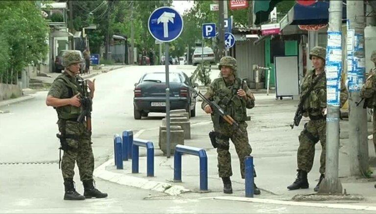 Sadursmēs Maķedonijā nogalināti 22 cilvēki