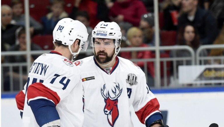 Daugaviņa 'Torpedo' KHL mačā izrauj uzvaru pār 'Jokerit'