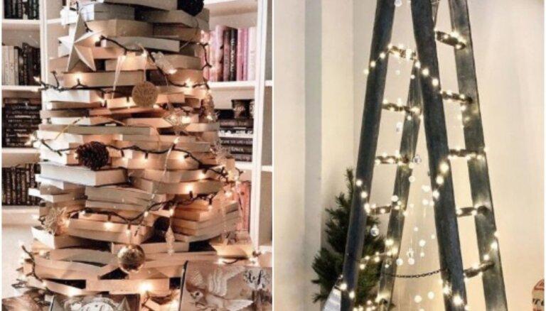Alternatīva klasiskajai Ziemassvētku eglītei: 10 radošas idejas citādam svētku kociņam