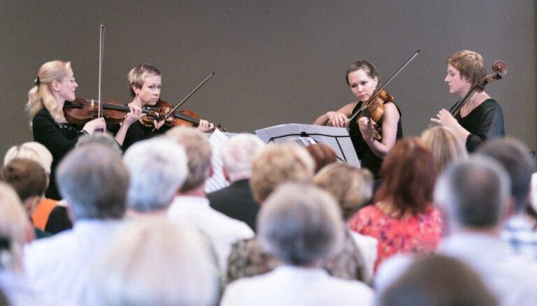 Liepājas stīgu kvartets koncertēs Rundāles pilī