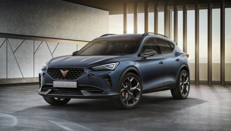 SEAT jaunās 'Cupra' markas pirmais modelis 'Formentor'