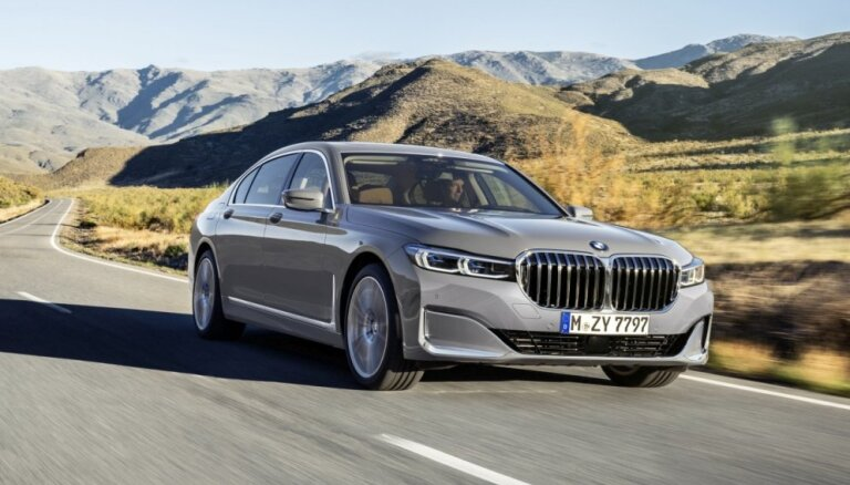 BMW modernizētā 7. sērija ieguvusi milzīgas 'nāsis'