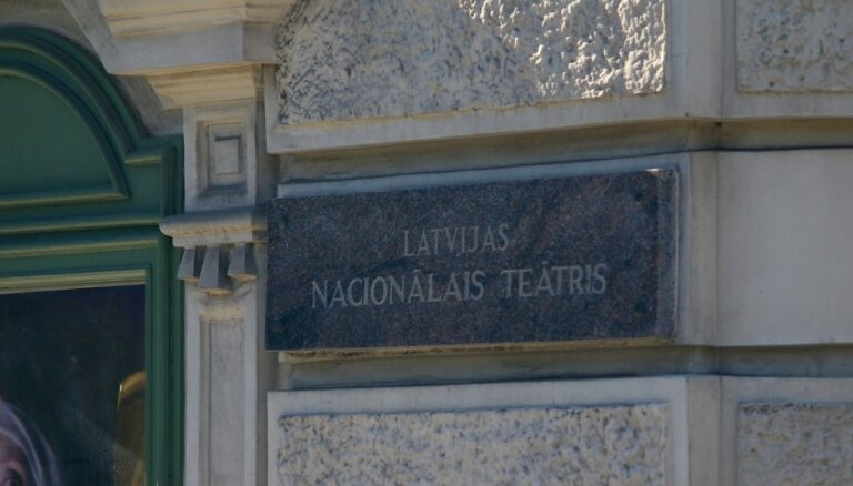 Pagājušās sezonas Nacionālā teātra labākie aktieri - Lāsma Kugrēna un Ivars Kļavinskis