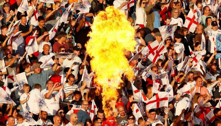 Более 1300 болельщиков сборной Англии не пустили в Россию на ЧМ по футболу