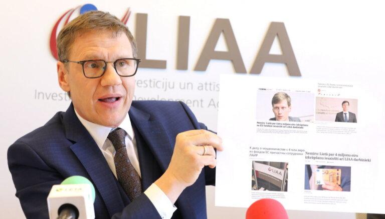 Директор LIAA требует от министра экономики извинений