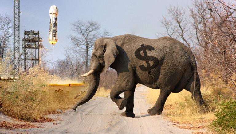 Сколько весит богатство Безоса и других сверхбогачей в слонах, космических кораблях и ВВП Китая