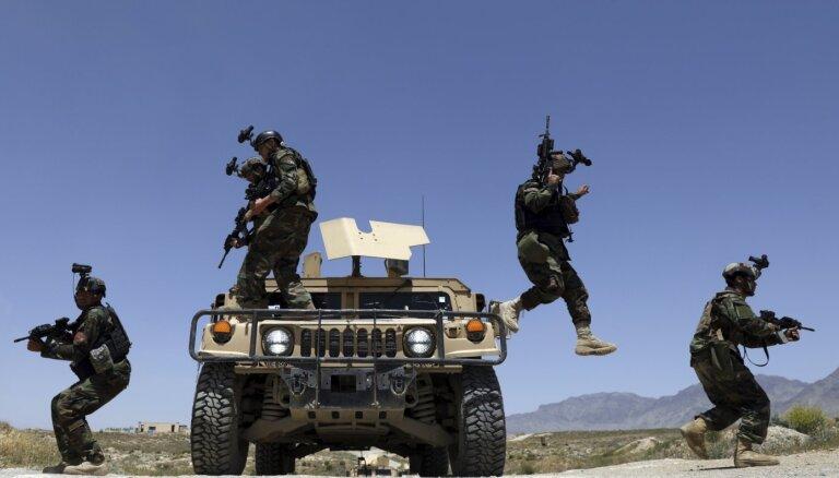 ASV var palēnināt savu spēku izvešanu no Afganistānas