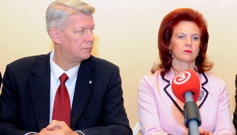 Zatlers: Reformu partija varētu uzņemt ar Āboltiņu neapmierinātus 'Vienotības' biedrus
