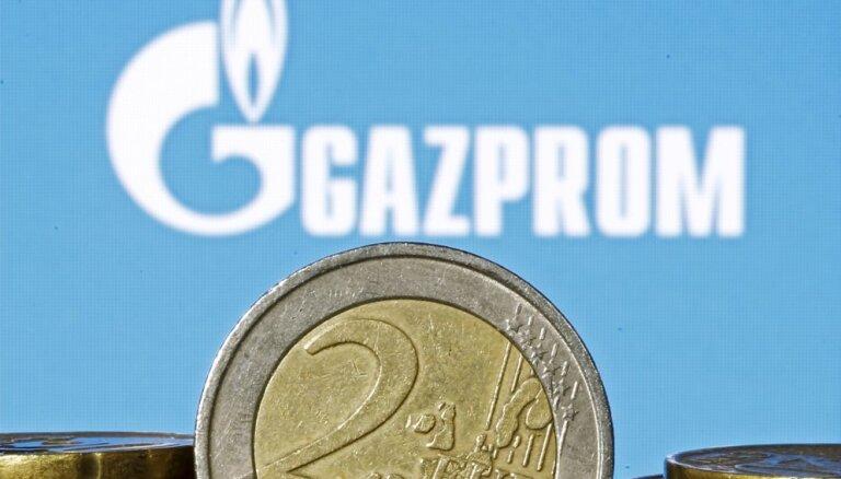 "Доходы ""Газпрома"" от экспорта газа рухнули на 40%"