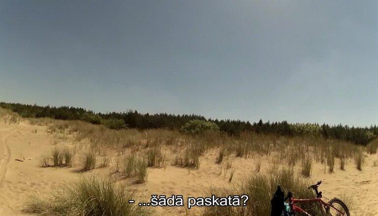 Rīgas kārtības sargi Vecāķu pludmalē aiztur uzmācīgu atpūtnieku