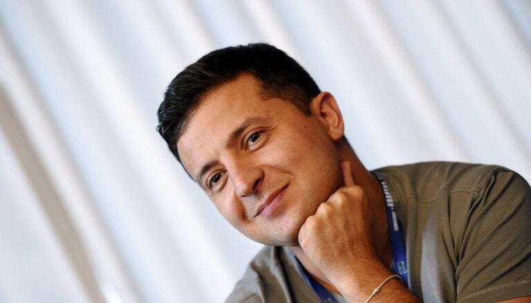 Комик Зеленский официально объявил, что баллотируется в президенты Украины