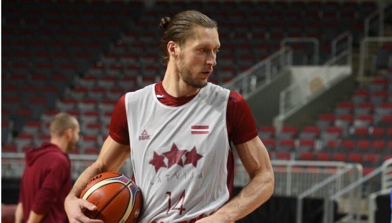 Kaspars Bērziņš pēc gūtā savainojuma nenožēlo pievienošanos Latvijas izlasei