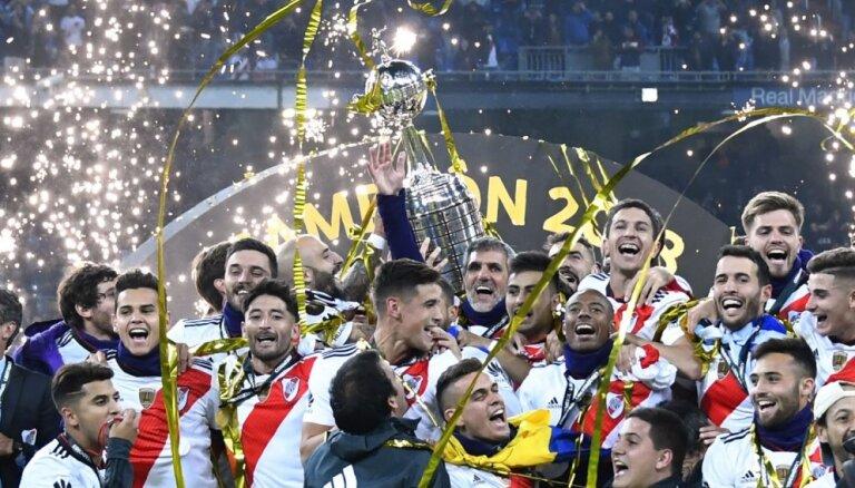 Šā gada skandalozajā 'Copa Libertadores' triumfē 'River Plate'