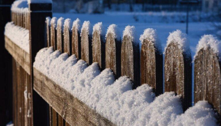 Nākamnedēļ varētu sākties ziemas aukstākā daļa