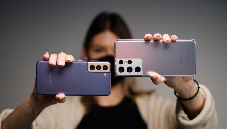 ФОТО И ВИДЕО: Samsung представил флагманский телефон этого года – Galaxy S21
